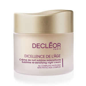DECLÉOR Excellence De L'Age Redensifying Night Cream (50ml)