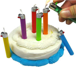 Flikz Lighter Party Candles