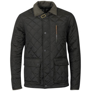 Ringspun Men's Domino Quilted Jacket - Green