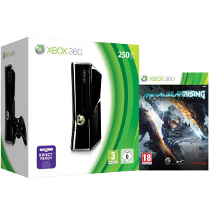 Xbox 360 250GB Matte Black Console: Bundle Includes (Metal ...