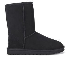 UGG Australia Women's Classic Short Sheepskin Boots - Black