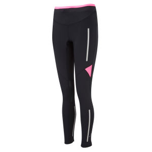 RonHill Women's Vizion Photon Tights - Black/Fluorescent Pink