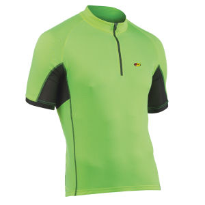 Northwave Force Short Sleeve Jersey - Yellow Fluo