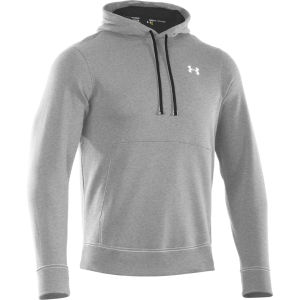 Under Armour Men's CC Storm Transit Hoody - True Gray Heather/Black