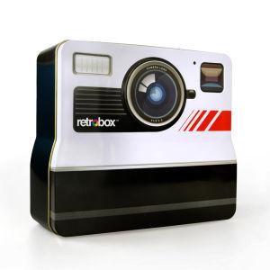 Retro Camera Tin