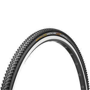 Continental CycloX-King Clincher Cyclocross Tyre - Black