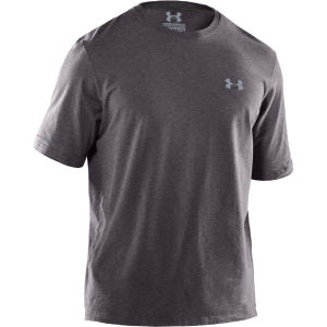 Under Armour Men's Charged Cotton Storm T-Shirt - Carbon Heather/Steel