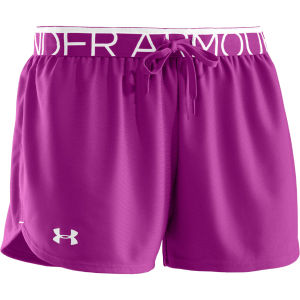 Under Armour Women's Play Up Shorts - Strobe/White