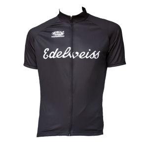Pella Edelweiss Short Sleeve Jersey - Black