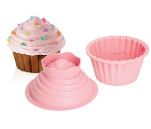 Giant Pink Cupcake Mould
