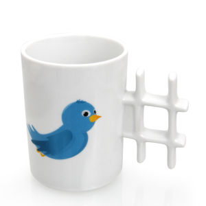 Twitter Styled Tweet Mug with Hashtag Handle