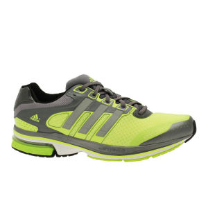 Adidas Men's Supernova Glide 5 Running Shoe - Electricity/Metallic Silver/Night Met