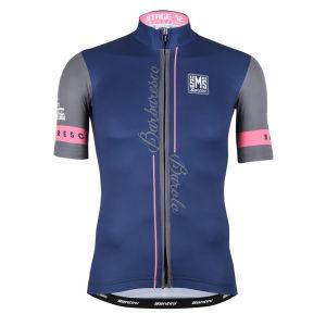 Giro Ditalia 2014 Stage 12 Barbaresco-Barolo Short Sleeve Full Zip Jersey - Blue
