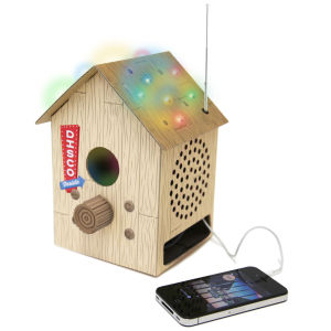 Bird Box Radio and MP3 Speaker