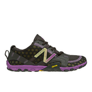 New Balance Women's WT10BP2 Minimus Running Shoes - Black/Purple