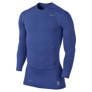 Nike Men's Core Compression Long Sleeve Top 2.0 - Game Royal Blue