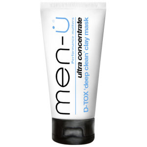 men-ü D-TOX 'Deep Clean' Clay Mask (100ml)