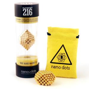 Nanodots Magnetic Constructors Gold - 216 Dots