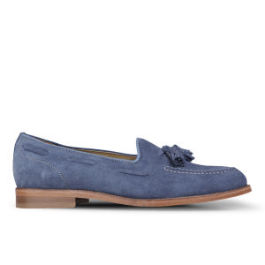 H by Hudson Women's Stanford Suede Loafers - Blue