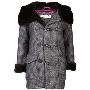 Odd Molly Women's Muffle Duffel Coat - Grey Melange