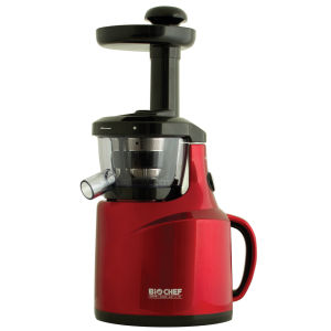 Bio Chef Silent Juicer Burgundy