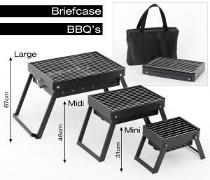Briefcase BBQs