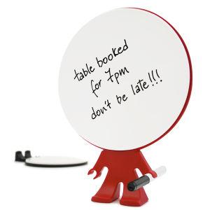 Big Head Reusable Memo Pad - Red