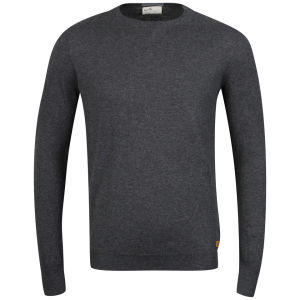 Boxfresh Men's Gafna 14 Gauge Crew Neck Sweater - Charcoal
