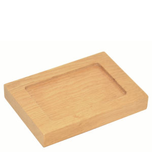 Mezza Natural Oak Soap Dish