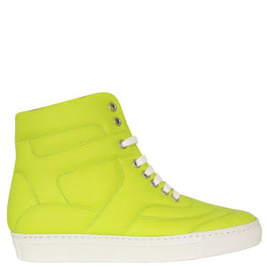 MM6 Maison Martin Margiela Women's S40WS0008 SX7638 Trainer - Neon Yellow