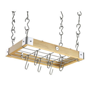 Hahn Metro Ceiling Rack - Natural Wood