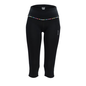 Zoot Women's Ultra Run Pulse Capri - Black/Beet