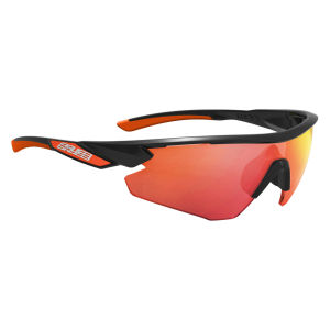 Salice 012 RW Sport Sunglasses - Black/Red