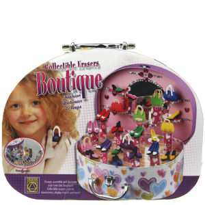 Creative Toys Collectible Erasers Boutique in Designer Case