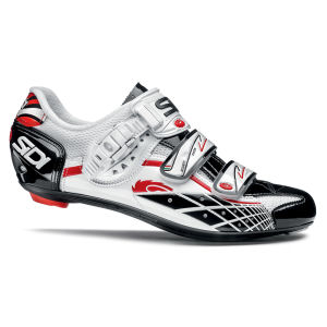 Sidi Laser Vernice Cycling Shoes - White/Black 2014