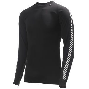 Helly Hansen Men's Dry Stripe Crew - Black