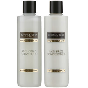 Jo Hansford Expert Colour Care Anti Frizz Shampoo and Conditioner (250 ml)