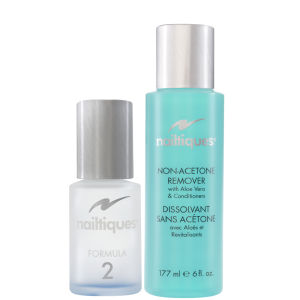 Nailtiques Nail Protein Formula 2 (14.8ml) With Free Polish Remover