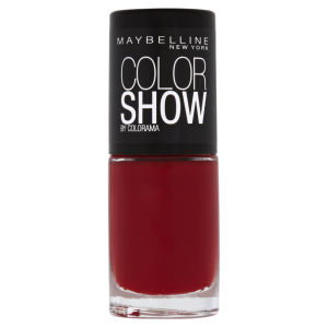 Maybelline New York Color Show Nail Lacquer - 352 Downtown Red 7ml