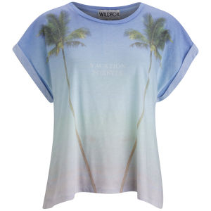 Wildfox Women's Vacation Forever T-Shirt - Multi