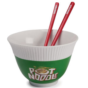 Pot Noodle Bowl and Chopstick Set
