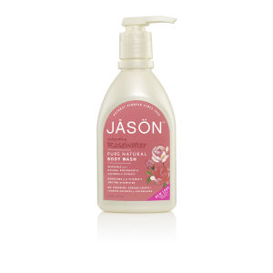 JASON Invigorating Rosewater Satin Body Wash Pump (887ml)