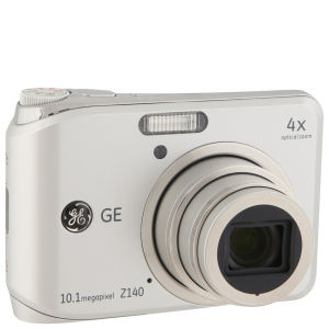 GE Z140 SL Digital Camera - Silver (10.1MP, 4 x Optical Zoom, 2.5 Inch LCD)