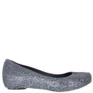 Melissa Women's Ultragirl Glitter Shoes - Gun