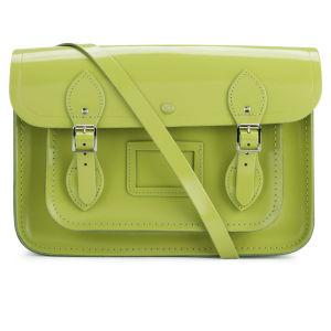 The Cambridge Satchel Company 13 Inch Patent Leather Satchel - Apple Green