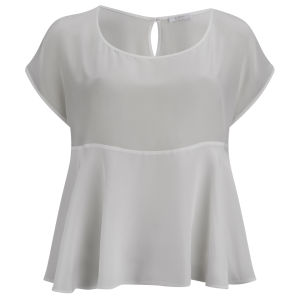 D.EFECT Women's Ida Spring Blouse - White