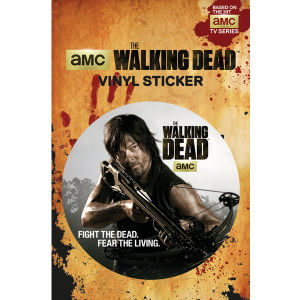 The Walking Dead Daryl Dixon - Vinyl Sticker - 10 x 15cm