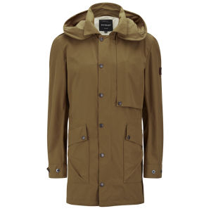 Knutsford Men's Ventile Cotton Parka - Toffee