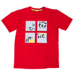 Tour De France 2013: Cube T-Shirt - Red
