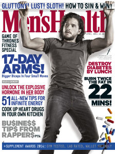 Men's Health Magazine April 2014